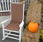 Cushion for Rocking Chair ~ Rocker ~ Indoor Outdoor ~ Select Solids or Stripes