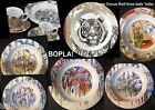 TAIGA Deep Plate Tigerface BOPLA Porcelain Rolf Knee Series White Tiger NEW