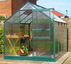 POLYCARBONATE GREENHOUSE - BAR CAPPING, GREEN, FREE BASE, FREE BASE ANCHORS
