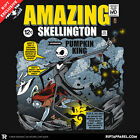 NIGHTMARE BEFORE CHRISTMAS Jack Skellington Burton EXCLUSIVE! Mens T-Shirt M-2XL