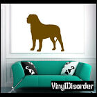 Mastiff Dog Vinyl Decal - 03Dogsworkingmastiff3