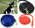3 colors Lenghth 10/15/20m Long Dog Pet Puppy Training Obedience Lead Leash