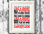 The Specials Ghost Town Song Lyric Posters Prints Typography Design For Framing