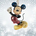 Mickey Mouse Maus Jim Shore Disney Traditions Showcase Hanging Ornament  A25904