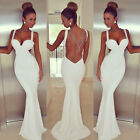 Sexy Womens Cocktail Formal Prom Gown Evening Party Summer Bodycon Long Dress