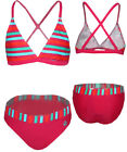 ☼NEU☼ Bikini Set in Pink gestreift von ~ COLOR KIDS ~ BLINKY♦ UV 40+♦ Gr.Wahl
