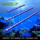 54w/81w/108w Blue White Strip LED Aquarium Bar Light for Tank Fish Reef Coral