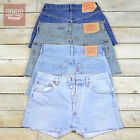 Vintage Levis Denim Shorts High Waisted Hotpants 6 8 10 12 14 16 18 (Grade A)