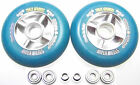 scooter schneller machen tuning 104mm rolle sticky Abec 9 Blau roller wheels