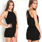 Sexy Women Club wear Halter Playsuit Bodycon  Party Casual Jumpsuit Romper