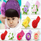Infant Baby Girl Toddler Fabric Flower Headband Headwear Hair Band  Photography