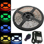 Waterproof SMD 3528 Led Strip Lights Lamps 5M 300Led +12V2A Power Supply Adapter
