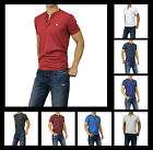New Abercrombie & Fitch A&F by hollister Men Muscle Fit Henley Shirts Essential