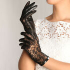 Women's Gothic leather lace lolita sexy gloves New Low price