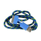 Admirable Rope USB 2.0 Charger Charging Sync Data Cable Cord iPhone 4 4S FOU