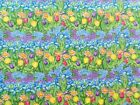 Spectrix SPX Birdhouse Gardens Floral Fabric Tulips Fat Quarter By the Yard
