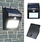 UK Wholesale Solar Light 4 LED Security Garden Path Wall Lamp PIR Motion Sensor