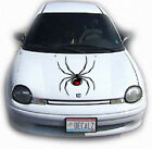 SPIDER #1 HOOD DECAL VINYL GRAPHIC CAR TRUCK VEHICLE  AUTO VAN SUV ANIMAL