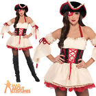 Sexy Pirate Costume Adult Foxy First Mate Ladies Fancy Dress Outfit New