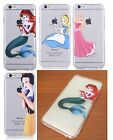 iPhone 6+ Plus / 6S+ Plus - SOFT RUBBER SILICONE SKIN CASE COVER DISNEY PRINCESS