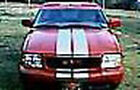 "6 PC 10""  DUAL RACING STRIPE SET  VINYL GRAPHIC DECAL CAR TRUCK CROSS OVER SUV"