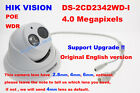 Hikvision English version DS-2CD2342WD-I 4MP IP camera CCTV security 2.8/4/6mm