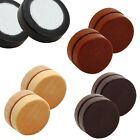 """magnetic wood timber fakeplugs earring tunnel plug piercing non pierced Ø 0.57"""""""