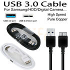 USB 3.0 High Speed Data Charger Cable Cord for Samsung Galaxy S5 Note 3 HDD