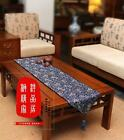 New Chinese Vintage Luxurious Handmade Dragon Brocade Table Runner Bed Flag