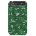 Giraffe Lion Elephant Hippo Drawing Hard Case For Blackberry Classic Q20