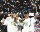 NFL Football Green Bay Packers Super Bowl Champions Aaron Rodger and Clay Matthe