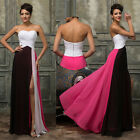 Long Maxi Chiffon Women Sexy Formal Cocktail Bridesmaid Evening Party Prom Dress