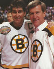 NHL Hockey Boston Bruins ORR and Ray Bourgue Photo Picture Print $84.95 USD on eBay
