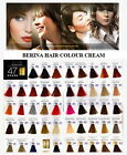 hair dye colour numbers - BERINA Hair Style Dye 47 Color Shade Cream Permanent Fashion Professional Use