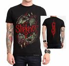 Slipknot Stitched  hardcore metal rock T-Shirt L XL 2XL NWT