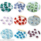 20/50/100Pcs Faceted Rondelle Exquisite Crystal Beads Jewelry DIY 4/6/8/10mm