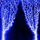 300%2F600+Led+Curtain+Fairy+Lights+Wedding+Indoor+Outdoor+Christmas+Garden+Party