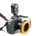 LED Macro Ring Lights With 6 Lens Adapter For Canon DV W48 Camera Camcorder Cams