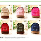 Women Mini Backpack Flower Coin Bag Wallet Hand Pouch Purse Key Holder FO UK.O