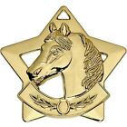 Horse Pony Equestrian Star Medal & Ribbon other sports available
