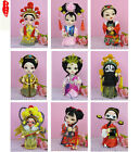 Chinese Handmade Beautiful Raw Silk Peking Opera Figure Cute Ornament Decoration