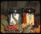 NELLIE'S SOY WAX...OLD JAR CANDLE.....NEW AUTUMN & HALLOWEEN SCENTS