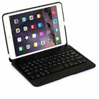For iPad mini 1 Stand Case Cover w/ Removable Rotating Bluetooth Keyboard