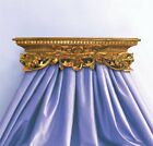 French Inspired Old World Style Ornate Leaf Design Bed ~ Available in 60 Colors