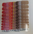 Jamberry Wraps HALF Sheet Discontinued in Red, Orange, Yellow, Neutrals