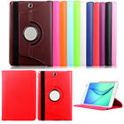 """360 Rotated PU Leather Cover Case For Samsung GALAXY Tab A 9.7"""" T555 T550 Tablet"""