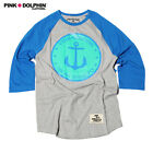 Pink Dolphin Graphic T-Shirt Size XL #Style 819