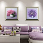 Modern Abstract Bright Flower on Painting Print Bedroom Living Room Home Art Dec