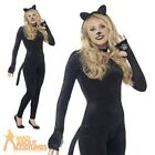 Kyпить Teen Cat Costume Witches Kitty Girls Halloween Catsuit Fancy Dress Outfit на еВаy.соm