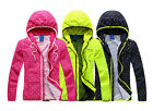 Cool Sport Hoodie Coat Women's Candy Color Jacket Polka Dot Overcoat TO US008